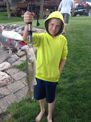 Lane Sheeder walleye